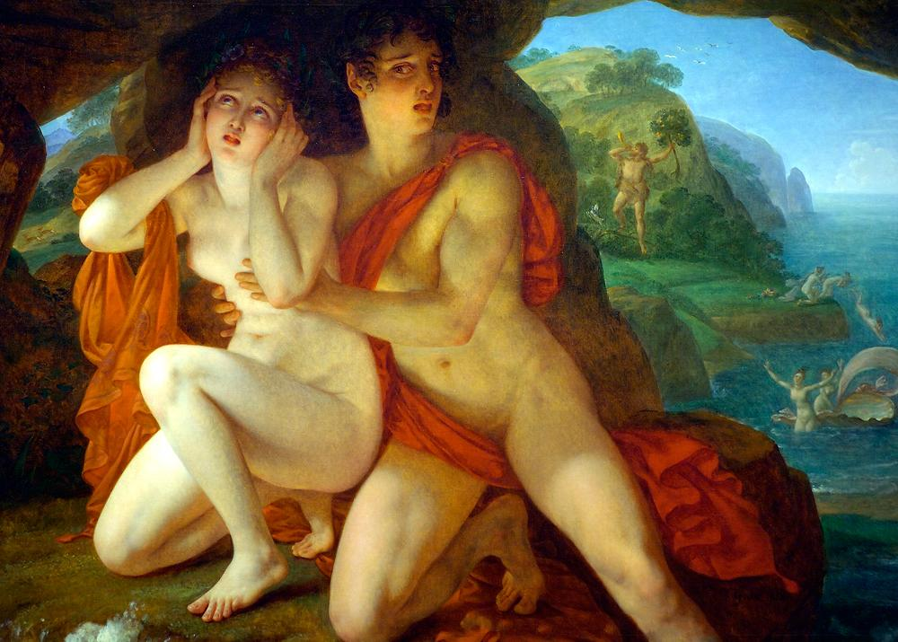 Acis And Galatea - AntoineJean Gros 1833