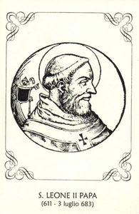 Papa Leone II santo