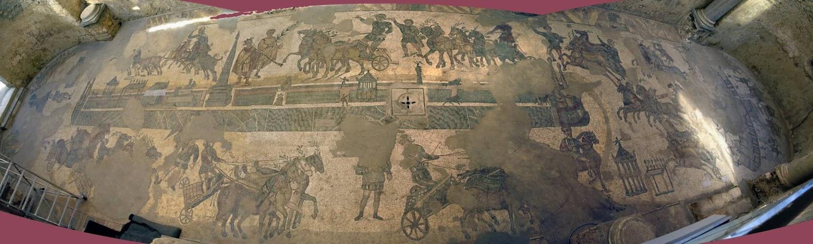 Circo Massimo Mosaico Villa del Casale Piazza Armerina
