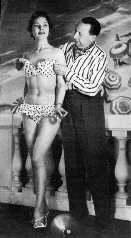 Louis Reard e il suo bikini nel 1946
