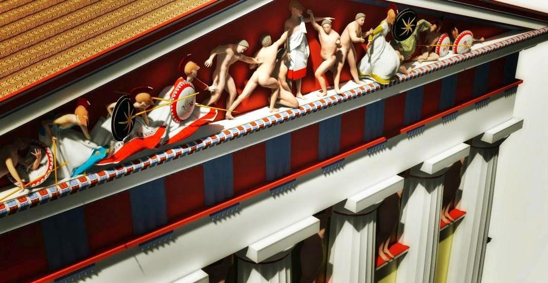 Zeus Architettura D Interni.Akragas ἀkragas Il Tempio Di Zeus Olimpio