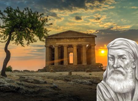 EMPEDOCLE DI AKRAGAS… Filosofo, medico-taumaturgico e politico siciliano del V secolo a.C.