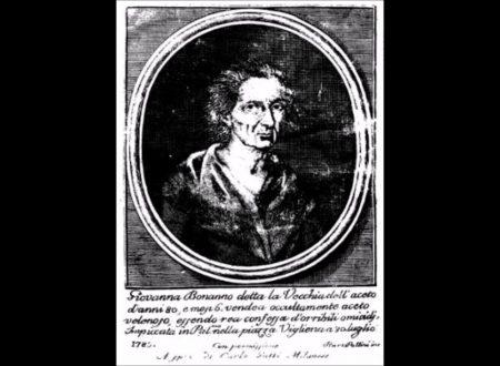 Giovanna Bonanno, la vecchia dell'aceto.